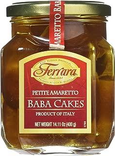 Ferrara Petite Amaretto Baba Cake, 15.5 Ounce
