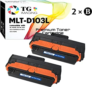 (2 x Black) CompatibleD103L MLT-D103L Toner Cartridge, for Samsung ML-2955 ML-2950 SCX-4729 Printer, Sold by TG Imaging