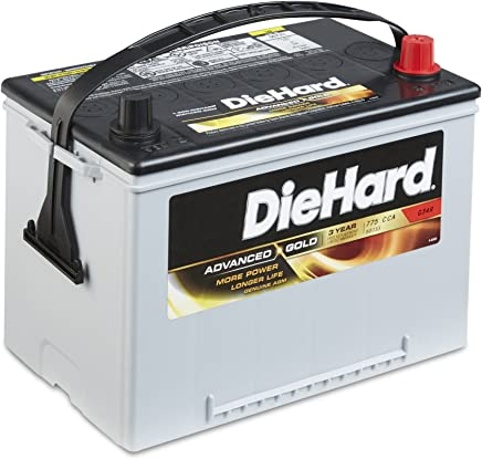 DieHard 38188 Group Advanced Gold AGM Battery GP 34R