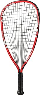 HEAD MX Fire 190 Beginners Racquetball Racket - Pre-Strung Head Light Balance Racquet