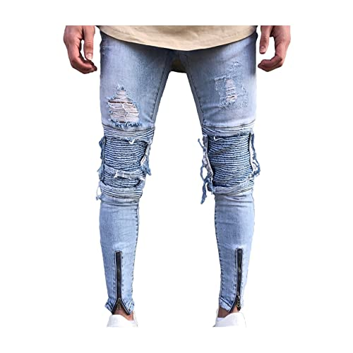 5ef38185f1 Men's Jeans with Patches: Amazon.com