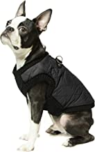 Gooby - Fashion Vest, Small Dog Sweater Bomber Jacket Coat with Stretchable Chest