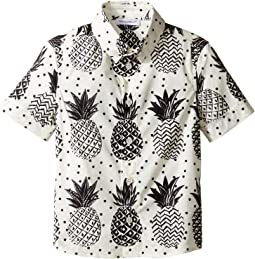 Pineapple Button Down (Toddler/Little Kids)