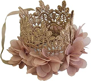Baby Flower Lace Crown Headband