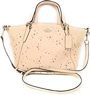 Coach F29597 Small Kelsey Satchel Studs Chalk