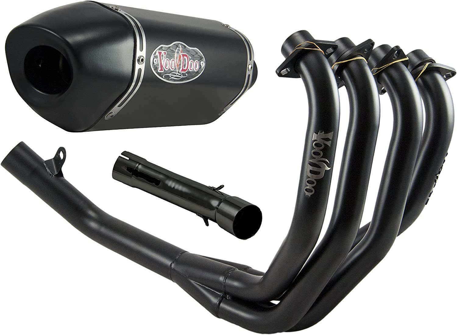 Today's only VooDoo Industries VPEFSCCBR900J3B Black Max 72% OFF Finish Performance Exhau
