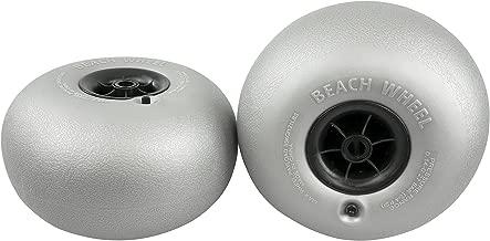 rubber beach wheels