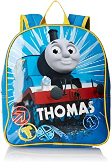 FAB Starpoint Boys' Thomas The Train 12 Inch Mini Backpack, Blue, One Size