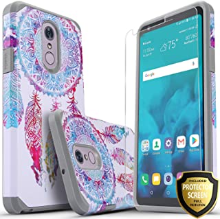 LG Stylo 4 Phone Case, LG Stylo 4 Plus Cases With [Premium Screen Protector Included] Starshop Dual Layers Impact Advanced Protective Shock Absorption Phone Cover For Stylo 4/Stylo 4 +(Dream Catcher)