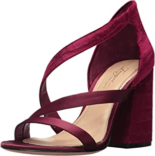 Imagine Vince Camuto Women's ABI Heeled Sandal, Currant, 6 Medium US