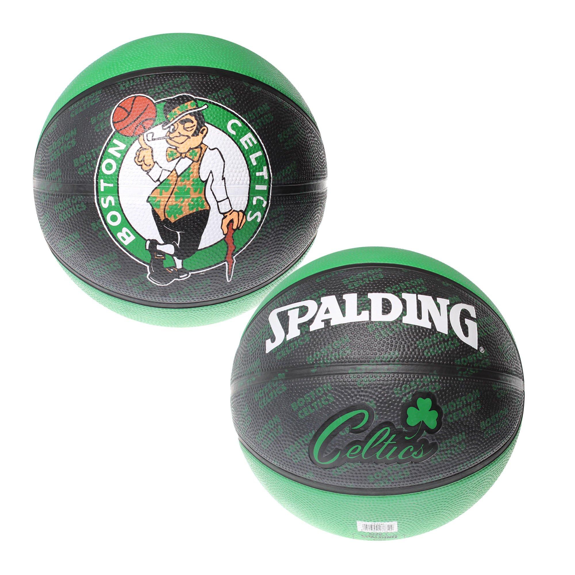 Spalding - Pelota de baloncesto (tamaño 7, diseño de Boston ...