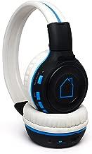 Blue House Mp3 Headphones- Wireless Headphones with 4gb SD Card, Bluetooth, FM Radio