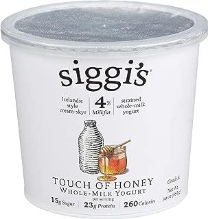 SIGGI'S Honey Whole Milk Yogurt, 24 OZ