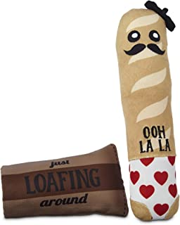 Leaps & Bounds Play Plush French Loaf Dog Toy