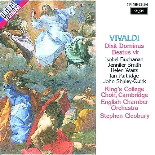 Vivaldi: Dixit Dominus (Psalm 109), R.594 - 3. Allegro: Virgam virtutis tuae de Isobel Buchanan & Jennifer Smith & English Chamber Orchestra & Stephen Cleobury en Amazon Music - Amazon.es