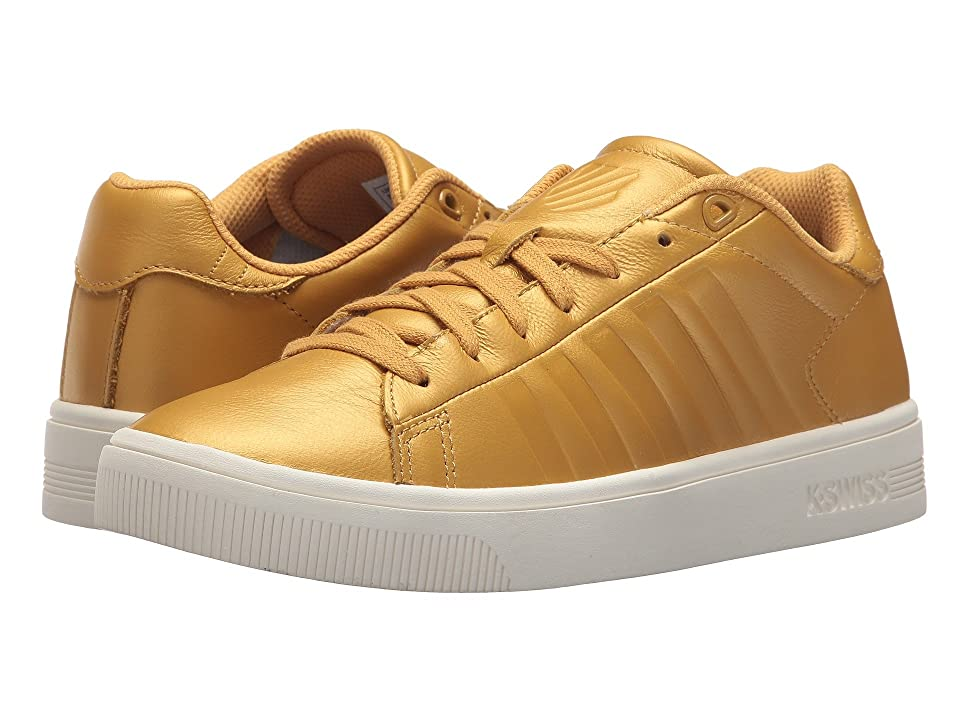 K-Swiss Court Frasco (Bright Gold/Marshmallow) Women