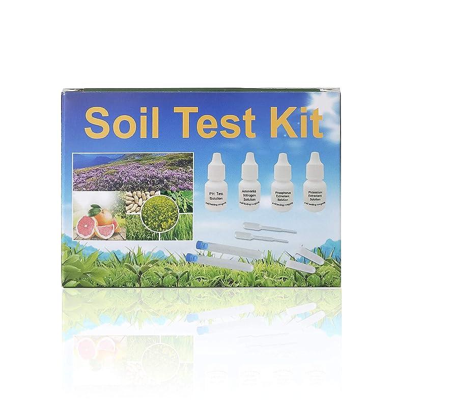 Merydi Soil Test Kit for Garden, Farm Filed, Including pH, Ammonia Nitrogen, Phosphorus Extractant, Polassium Testing paramenters