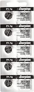 Energizer 357/303 Zero Mercury Batteries , 12 Pack