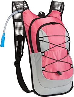 Equipped Outdoors Hydration Pack - 2 Liter Water Bladder with Extra Large Storage Compartment Backpack
