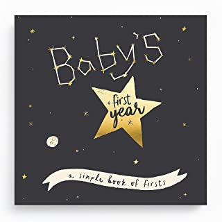 Baby Memory Book - Baby Journal - Pregnancy Journal for Your Babies First Years - Special Edition: Golden Stargazer Memory Book - My First Years - Lucy Darling