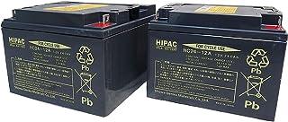 HC24-12A(2個セット)[昭和電工マテリアルズ(旧:日立化成)] 温度センサーテープサービス 小型制御弁式鉛蓄電池(サイクルバッテリー)適応 : スズキセニアカーET4E タウンカートTC1A[OEM SC24-12A]