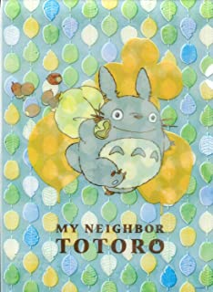 Movic Ghibli Studio My Neighbor Totoro A5 Clear File Stencil style Sky Blue 1115-5 from Japan