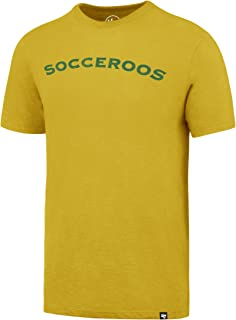 Socceroos Mens Gold '47 Scrum Tee, Gold