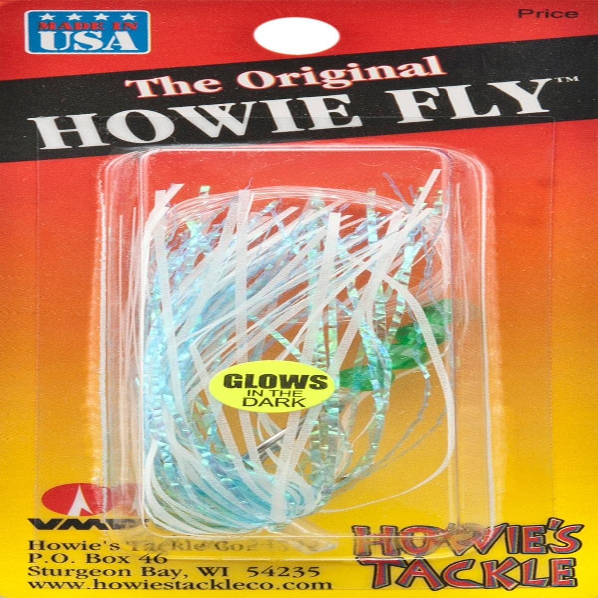 Howies Tackle Howie's Howie Fly Powder Fishing Super Special SALE held Glow Blue Lure 4 years warranty