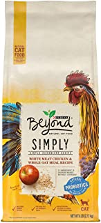 Purina Beyond Simply Natural, Adult Dry Cat Food & Toppers