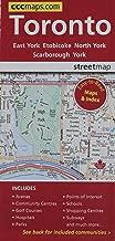 Toronto, Ontario - Easy to Read Street Map