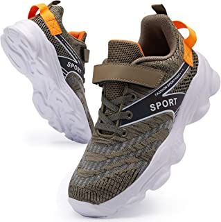 Boys Girls Sneakers Breathable Running Shoes for Kids...