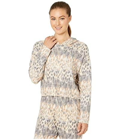 Onzie Weekend Crop Hoodie (Safari) Women