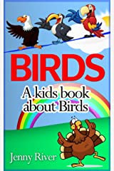Birds : A kids book about birds : Learn about many Birds like Turkey, Sparrow, Cardinal and more (20 funny illustrations of Birds) Kindle Edition