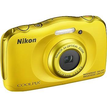 Nikon COOLPIX W100 Fotocamera Digitale Impermeabile Blu Giappone VER NUOVO//SPEDIZIONE GRATUITA