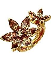 Oscar de la Renta - Runway Crystal Star Ring