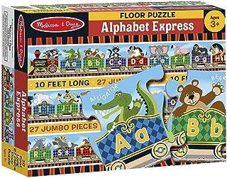 Alphabet Express: 27-Piece Floor Puzzle + FREE Melissa & Doug Scratch Art Mini-Pad Bundle [44202]
