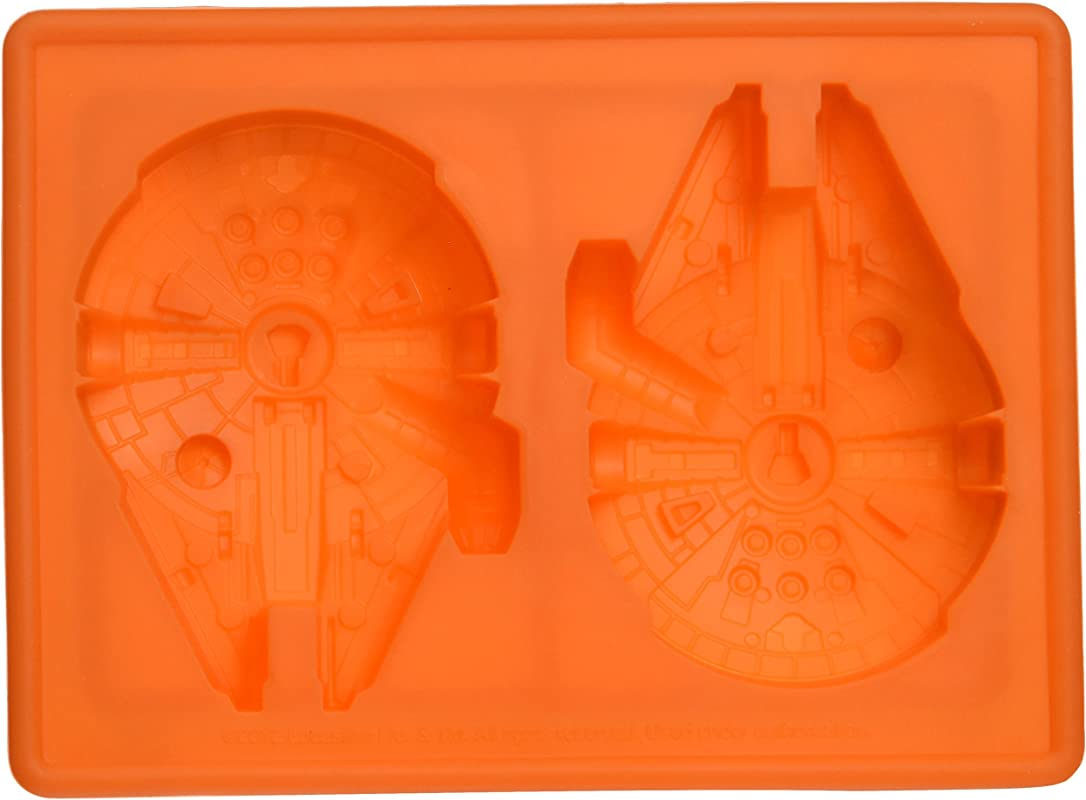Star Wars Millennium Falcon Silicone Ice Tray Chocolate Mold