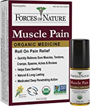 Forces of Nature - Natural, Organic Muscle Pain Relief (4ml) (Packaging May Vary)