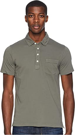 c3f86d14f8b12 Billy reid long sleeve smith polo, Clothing   Shipped Free at Zappos
