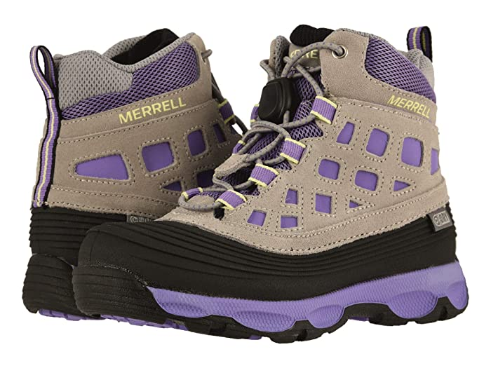 Merrell Kids  Thermoshiver 2.0 Waterproof (Little Kid/Big Kid) (Grey/Purple) Girls Shoes
