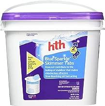 hth Pool Sanitizer Blue Sparkle Skimmer Tabs (28001)