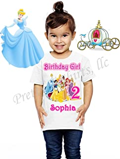 princess tiana birthday shirts