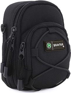Baxxtar Blackstar V4 - Funda para cámara compacta - Negro - Coolpix A900 A1000 - Lumix DC TZ200 TZ95 TZ90 DMC TZ80 TZ100 LX15 - PowerShot G7 X I II III SX730 SX740