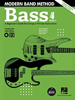 Modern Band Method - Bass, Book 1: A Beginner's Guide for Group or Private Instruction