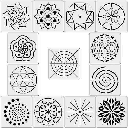9bb26c2513e58 Mandala Stencil: Amazon.com