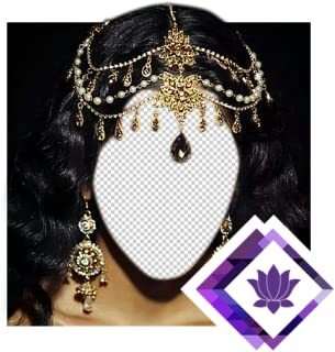 Indian Jewelry Photo Montage
