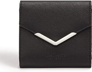 b08e9a60b5a2d LaBante -Diana- Porte Carte Femme- Portefeuille Femme Noir Portefeuille  Vegan Pochette Carte Cadeau
