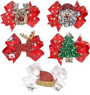 girls christmas hair accessories