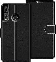 COODIO Custodia in Pelle Huawei P Smart 2019, Custodia Honor 20 Lite, Custodia Portafoglio Cover Porta Carte Chiusura Magnetica per Huawei P Smart 2019 / Honor 20 Lite/Honor 10 Lite, Nero