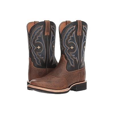 Ariat Quantum Crepe (Earth/Tack Room Black) Cowboy Boots